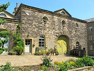 classically designed coachhouse and stable now large unusual family home with B+B and self catering